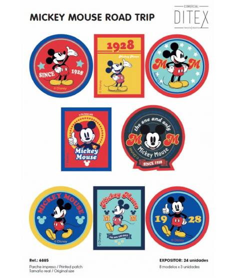 EXPOSITOR 6885 MICKEY MOUSE ROAD TRIP, 24 u