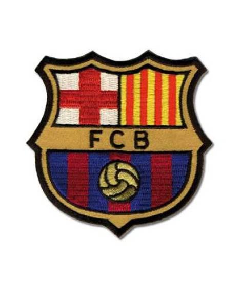 ESCUDO FC BARCELONA (7,50 x 7,50 cm), u